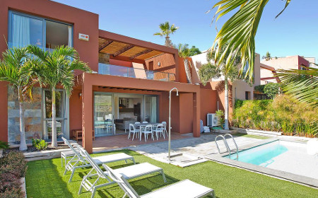 Holiday house for up to four people in Maspalomas